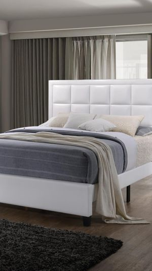 Brand new king size platform bed frame only for Sale in Silver Spring, MD