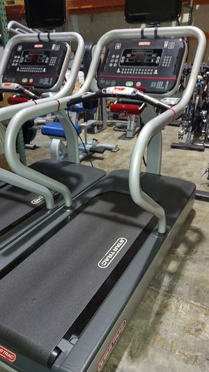 Star trac treadmill great condition personal viewing screen for Sale in Coconut Creek, FL
