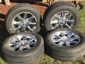 GMC Sierra Chevy Tahoe Silverado suburban 20 wheel tire rim for Sale in Woodbridge Township, NJ