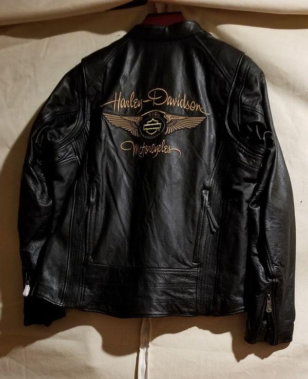RARE New w/o tags 110th Anniversary Harley Davidson leather Women's XXL jacket
