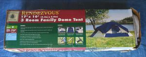 Large 3 Room Tent for Sale in PT CHARLOTTE, FL
