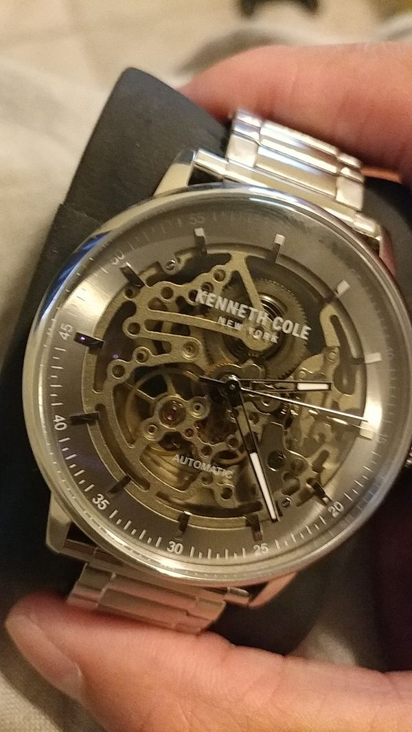 Kenneth Cole Skeleton Style Watch
