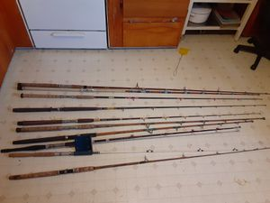 Lot of Vintage Fishing Rods for Sale in Lomita, CA