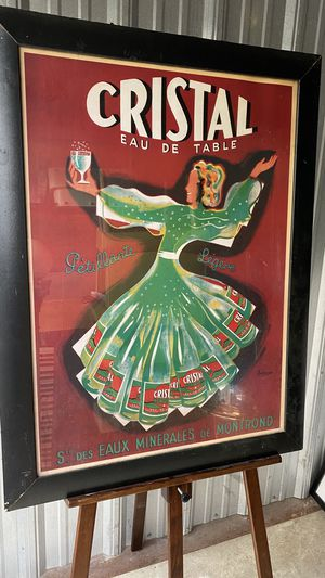 Vintage cristal poster repo for Sale in Dublin, OH