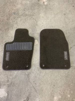 Two OEM Jeep front floor mats for Sale in Pleasanton, CA