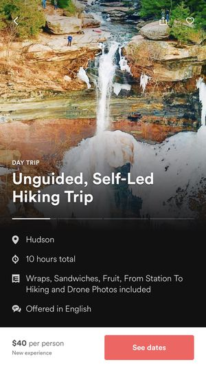 AirBnB hiking and drone experience in the Catskills for Sale in New York, NY