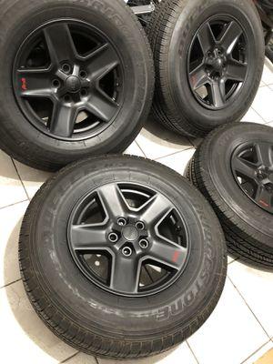Jeep Gran Cherokee 4x4 wheels /tires!!! for Sale in Huntington Park, CA