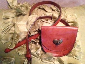 Genuine leather heart purse belt fanny pack for Sale in Nashville, TN