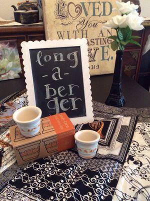 Authentic Longaberger Halloween Votive Cups for Sale in San Antonio, TX