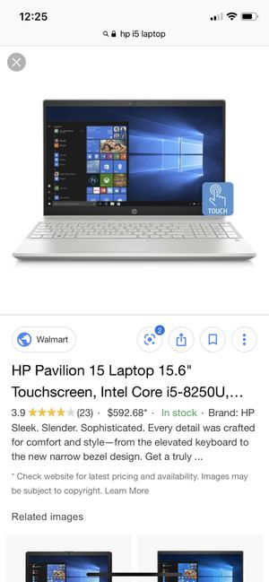 HP i5 Touchscreen Laptop for Sale in Rochester, NY