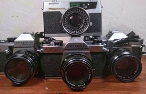Retro lot film cameras for Sale in Aurora, CO