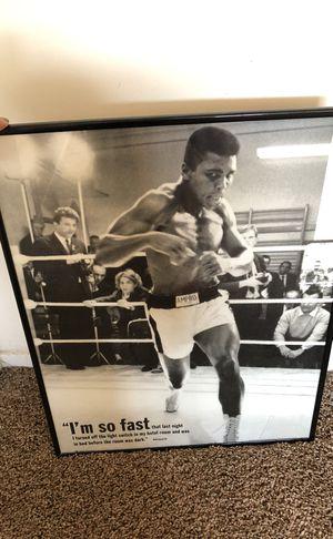 Muhammad Ali Poster for Sale in Santa Monica, CA