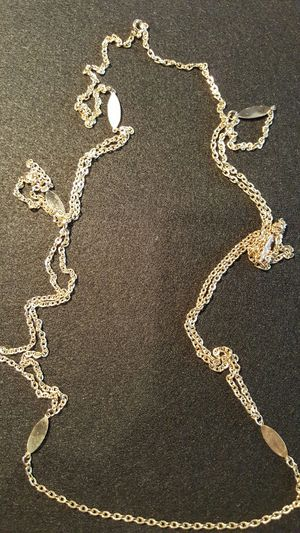 Vintage long gold chain 26in for Sale in Houston, TX