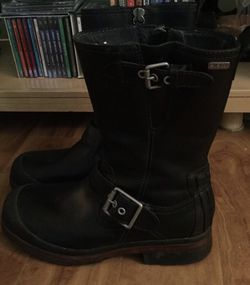 Men's size 9 black boots UGG motorcycle boots for Sale in Clearwater,  FL
