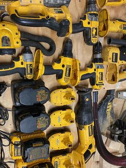 Dewalt 18V: 10 Tools and 8 Batteries for Sale in Edgewater,  MD