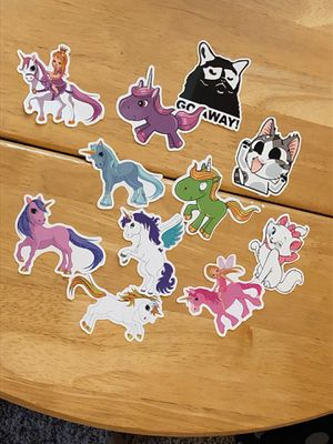 Cats And Unicorn Stickers for Sale in North Ridgeville, OH