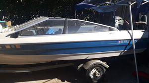 Bayliner ski boat with skis for Sale in Rialto, CA