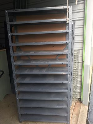 Metal Industrial rack 12 shelves for Sale in Smoke Rise, GA