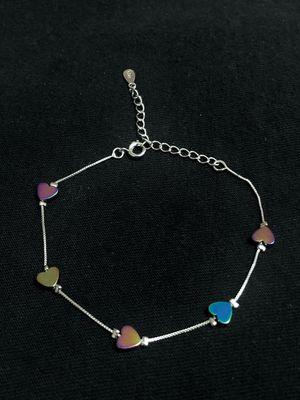 Sterling Silver Hearts Bracelet for Sale in Las Vegas, NV