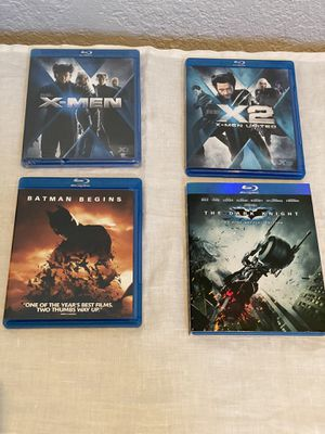 X-MEN Batman Blu Ray for Sale in Fresno, CA