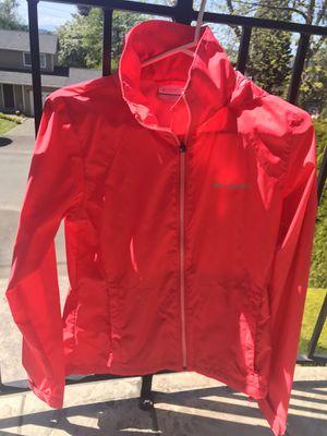 Columbia Women's Switchback iii Adjustable Waterproof Rain Jacket Size XS Coral/Red for Sale in Seattle, WA