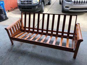 Solid Wood Couch/Bed Frame for Sale in Dearborn Heights, MI
