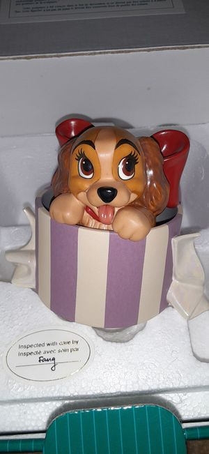 Disney lady and tramp figure for Sale in Royal Oak, MI