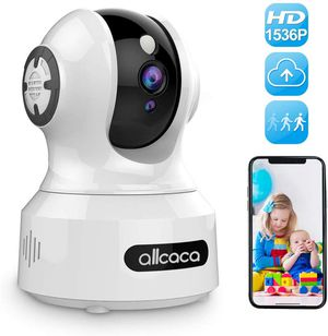 New [Update] Baby Camera Monitor,allcaca 1536P Wireless IP Camera 3MP Smart Security Camera Pet Camera with Night Vision Motion Detection Remote Cont for Sale in Orlando, FL