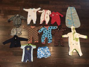 Baby boy 6 months clothes some 6-12 months for Sale in Gilbert, AZ