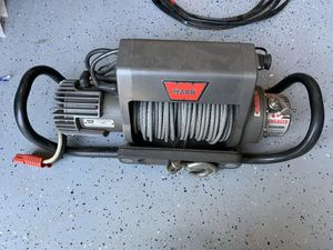 Warn winch with hitch kit for Sale in Vancouver, WA