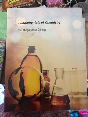 Fundamentals of Chemistry for Sale in San Diego, CA