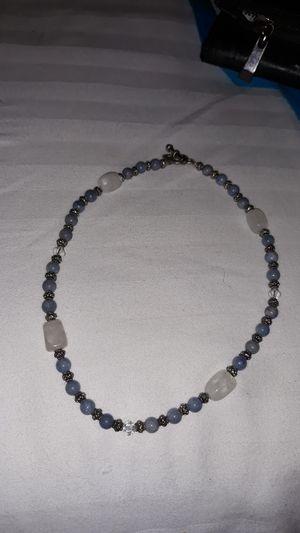 Handmade Iolite and moonstone necklace for Sale in Oldsmar, FL