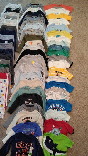63 Beautiful Baby Boy's Clothes Size 12 Months ( excellent condition ) Many Brands .. price for all for Sale in Frederick, MD