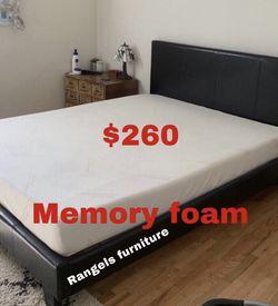💥Brand new Blue Gel Memory Foam Mattress💥 Queen Mattress only-$260 Mattress & box spring-$320 Full Mattress only-$235 Mattress & box spring for Sale in Pomona,  CA