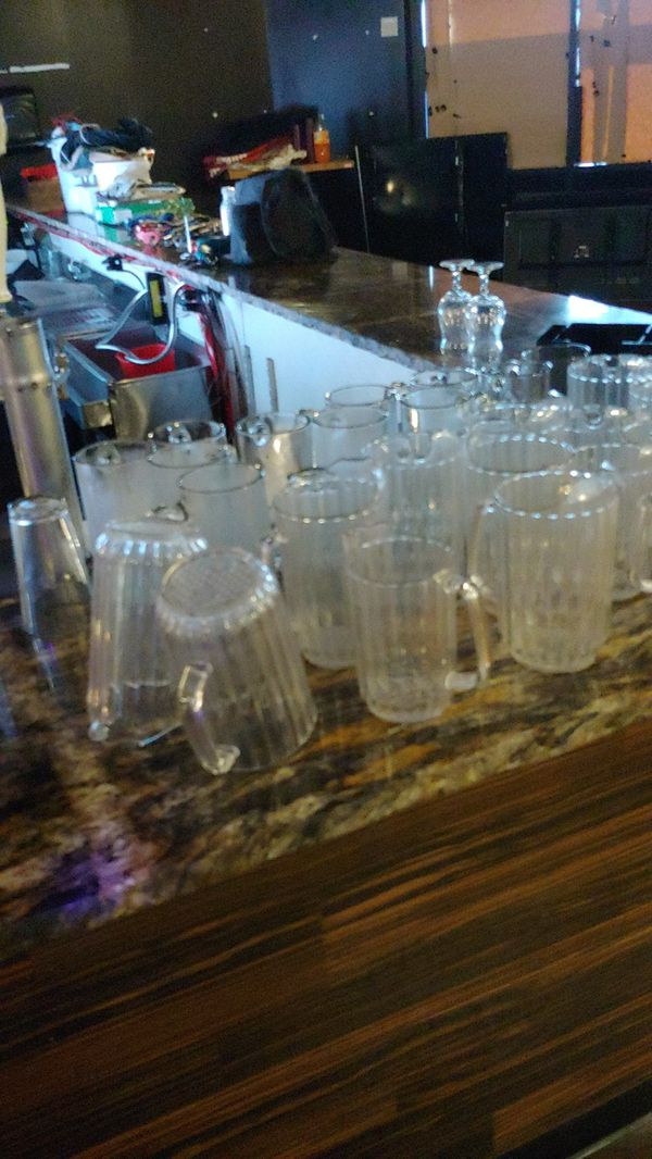 Restaurant furniture and supplies lots to choose from over 45 tables a hundred chairs glasses dishes we got it all inside tables outside tables