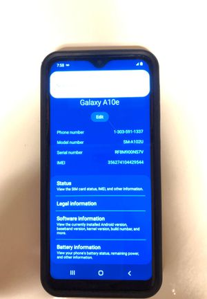 Samsung Galaxy A10e Metro PCS smart phone for Sale in Rosenberg, TX