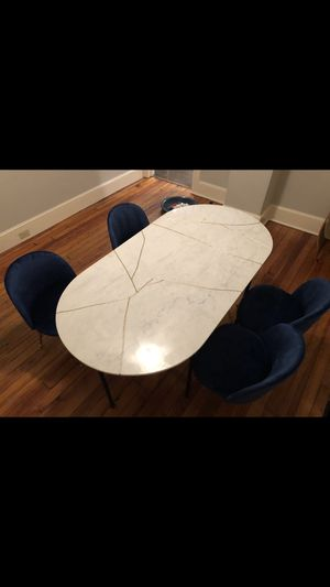 Marble Dining table (TABLE ONLY) for Sale in Moorestown, NJ