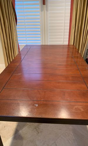 MAKE OFFER Solid wood kitchen table ***NO CHAIRS*** for Sale in Huntington Beach, CA