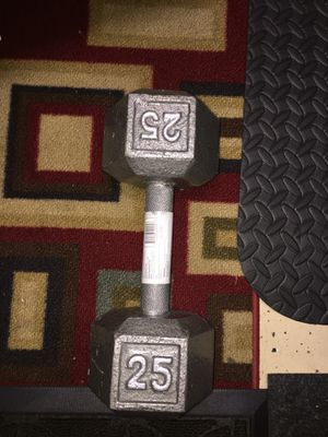 Brand new 25 pound dumbbell for Sale in Orlando, FL