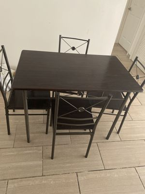 Dining table with 4 chairs.... for Sale in West McLean, VA
