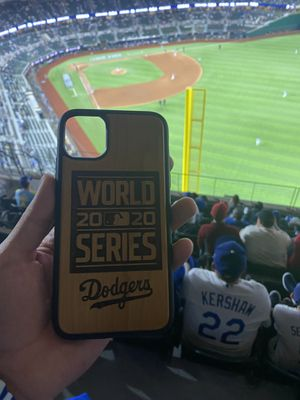 World Series Dodgers Real Wood iphone case for Sale in La Puente, CA