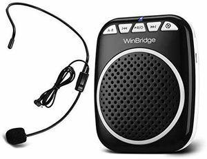 Voice Amplifier Portable Microphone and Speaker Loudspeaker Personal Microphone Speech Amplifier Clip On for Sale in San Antonio, TX