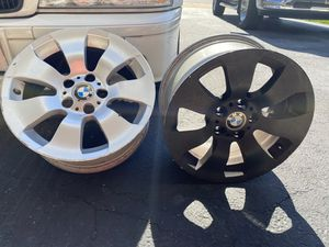 Four BMW Rims and 4 tires sold separately or together for Sale in York, PA