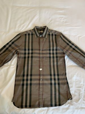 Authentic Burberry shirt for Sale in Corona, CA