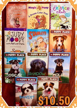 12 paperback reading books for Sale in Fresno, CA