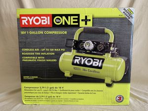 RYOBI 18-Volt ONE+ Cordless 1 Gal. Portable Air Compressor (Tool-Only) - dewalt - NEW IN BOX for Sale in Spring, TX