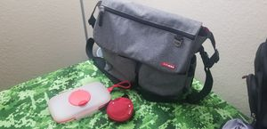 Skip Hop Diaper Bag, Pacifier Hold and Wipe Case for Sale in National City, CA