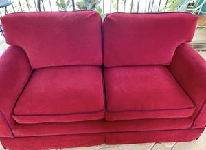 Very good condition red velvet couch. Free for Sale in Rosemead, CA