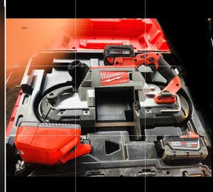 MILWAUKEE FUEL BAND SAW KIT for Sale in Grand Prairie, TX
