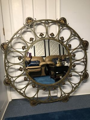 Wrought iron large wall mirror(60LB) for Sale in Old Bridge Township, NJ